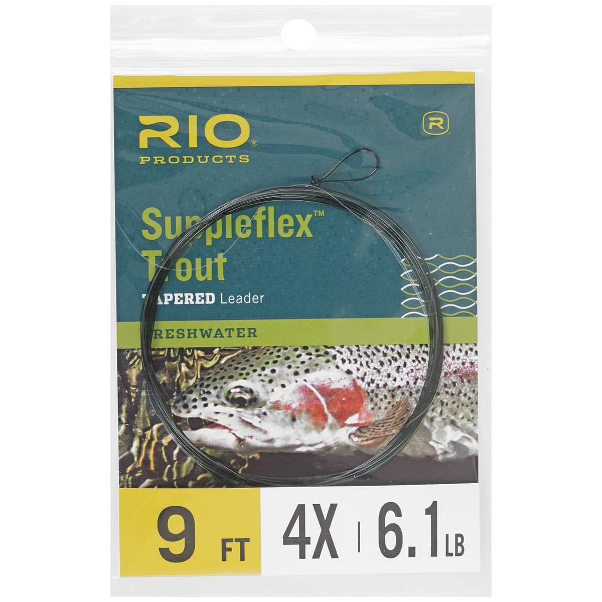 Rio Suppleflex Trout Leader 9 FT