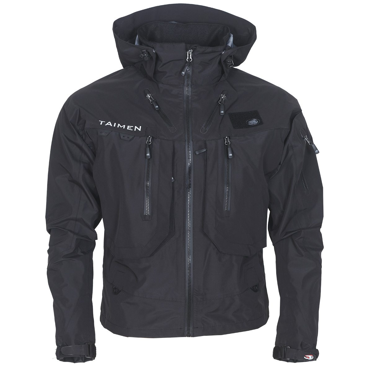 Taimen Kolyma Wading Jacket - Pirate Black