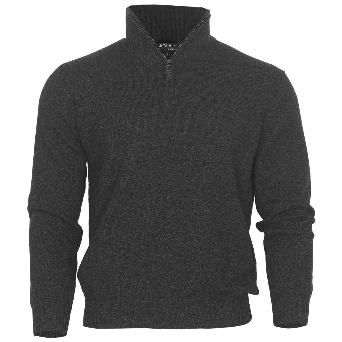 Taimen Cashmere Sweater - Pirate Black