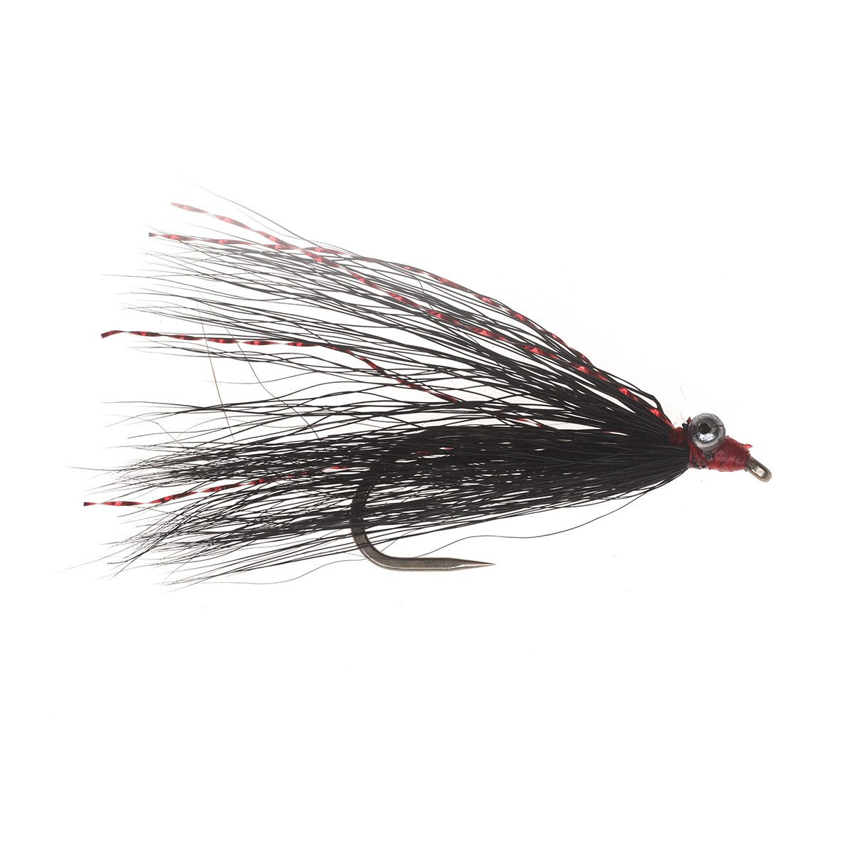 Trout Clouser Fly Black