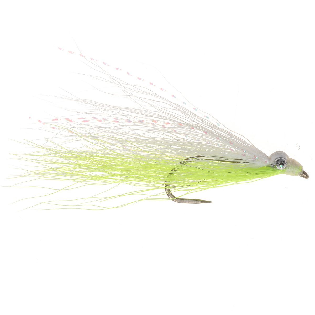 Trout Clouser Fly Chartreuse