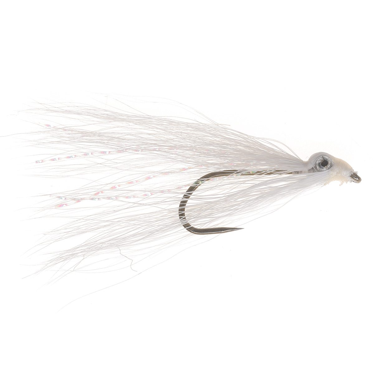 Trout Clouser Fly White