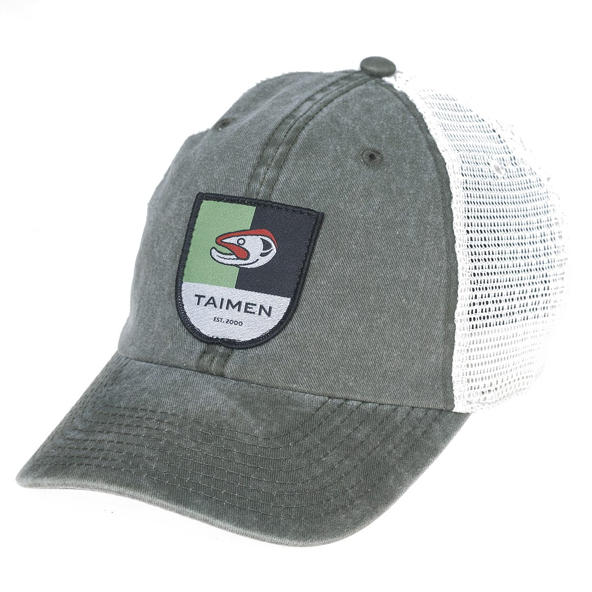 Taimen Fishing Cap. Trucker no. 7