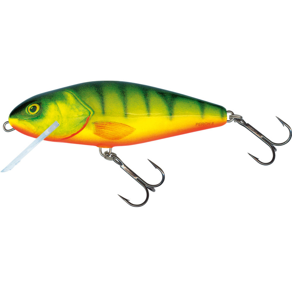 Salmo perch fishing lures minnows taimen for Perch fishing lures