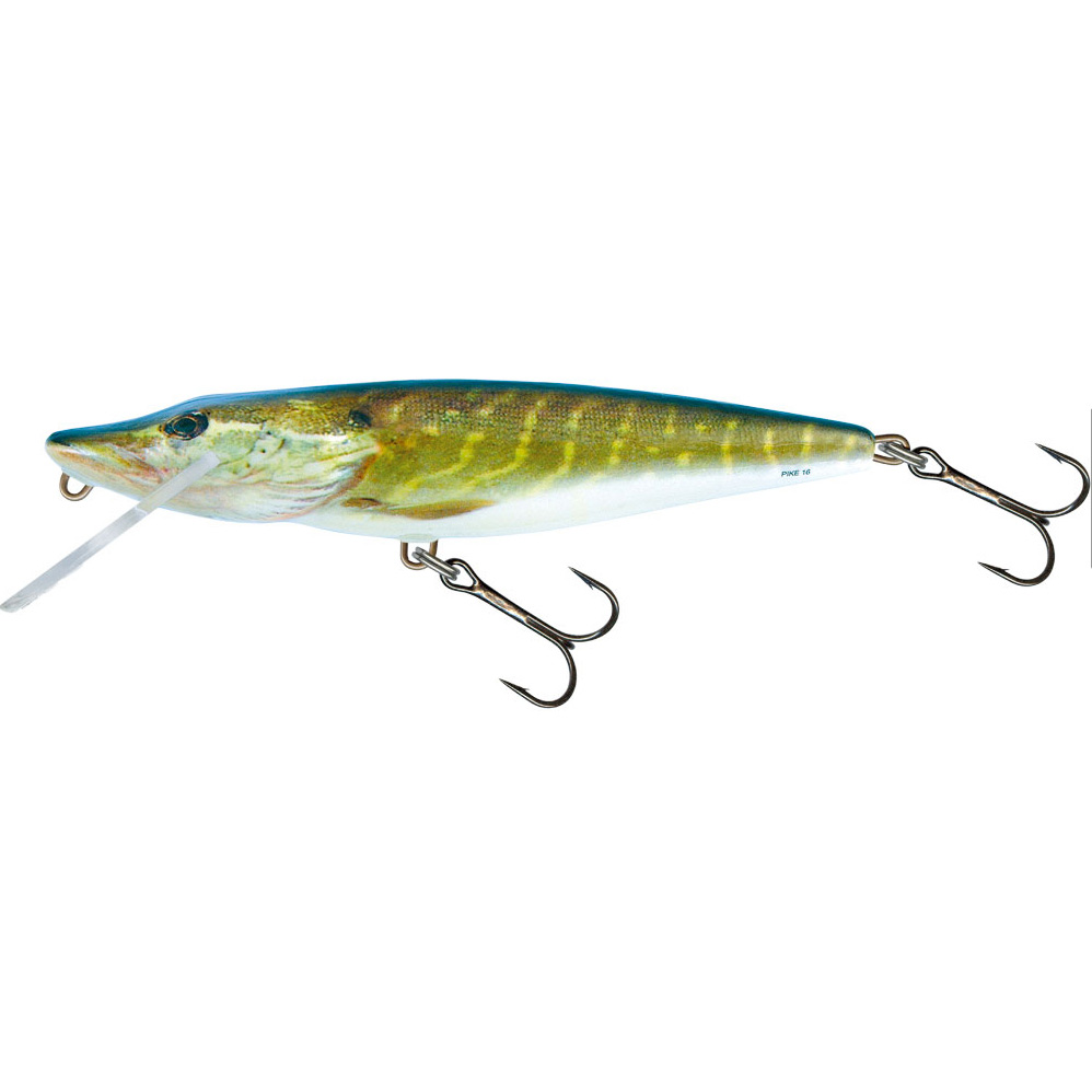 Salmo pike fishing lures minnows ebay for Pike fishing colorado