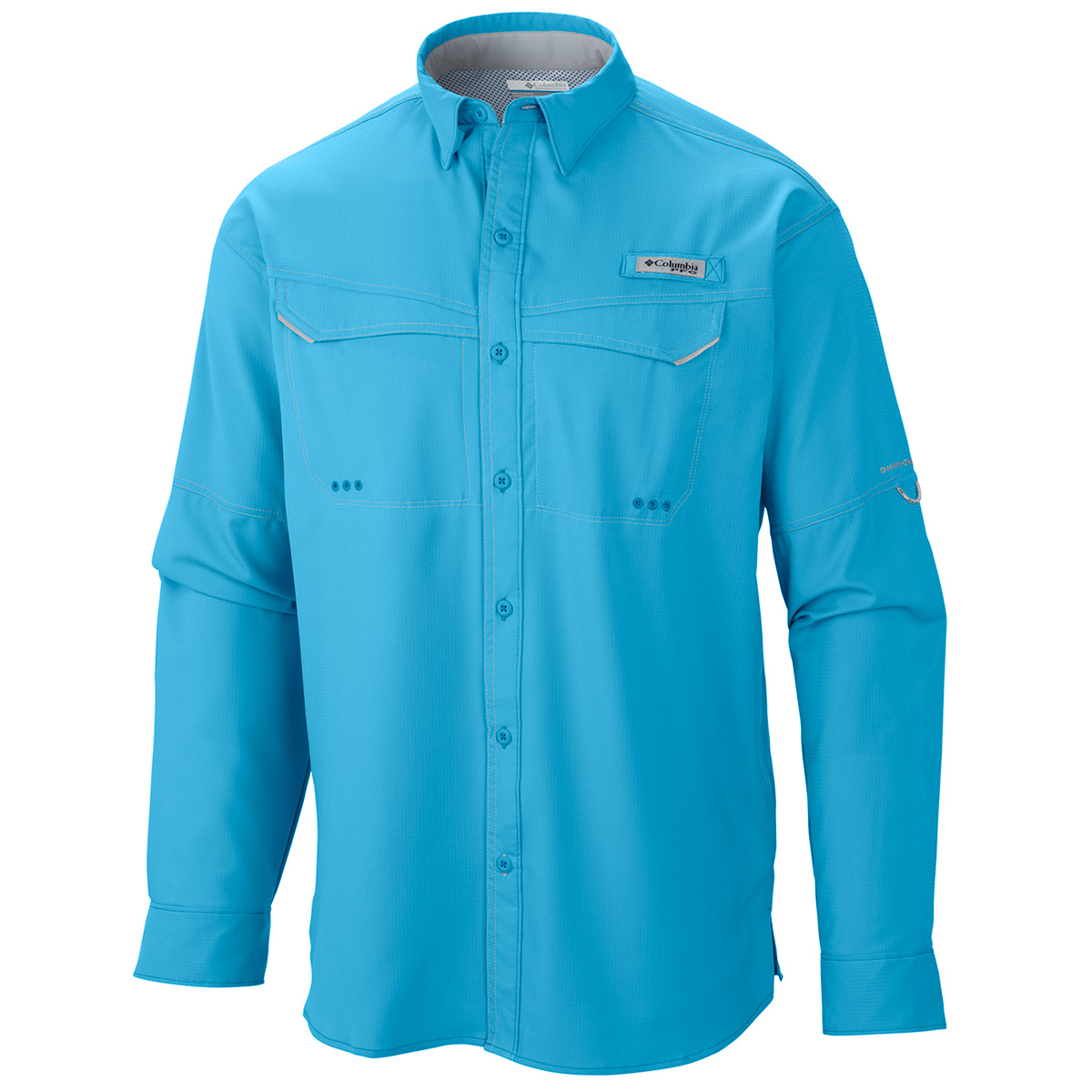 Columbia low drag offshore ls shirt fishing shirts ebay for Columbia cotton fishing shirt
