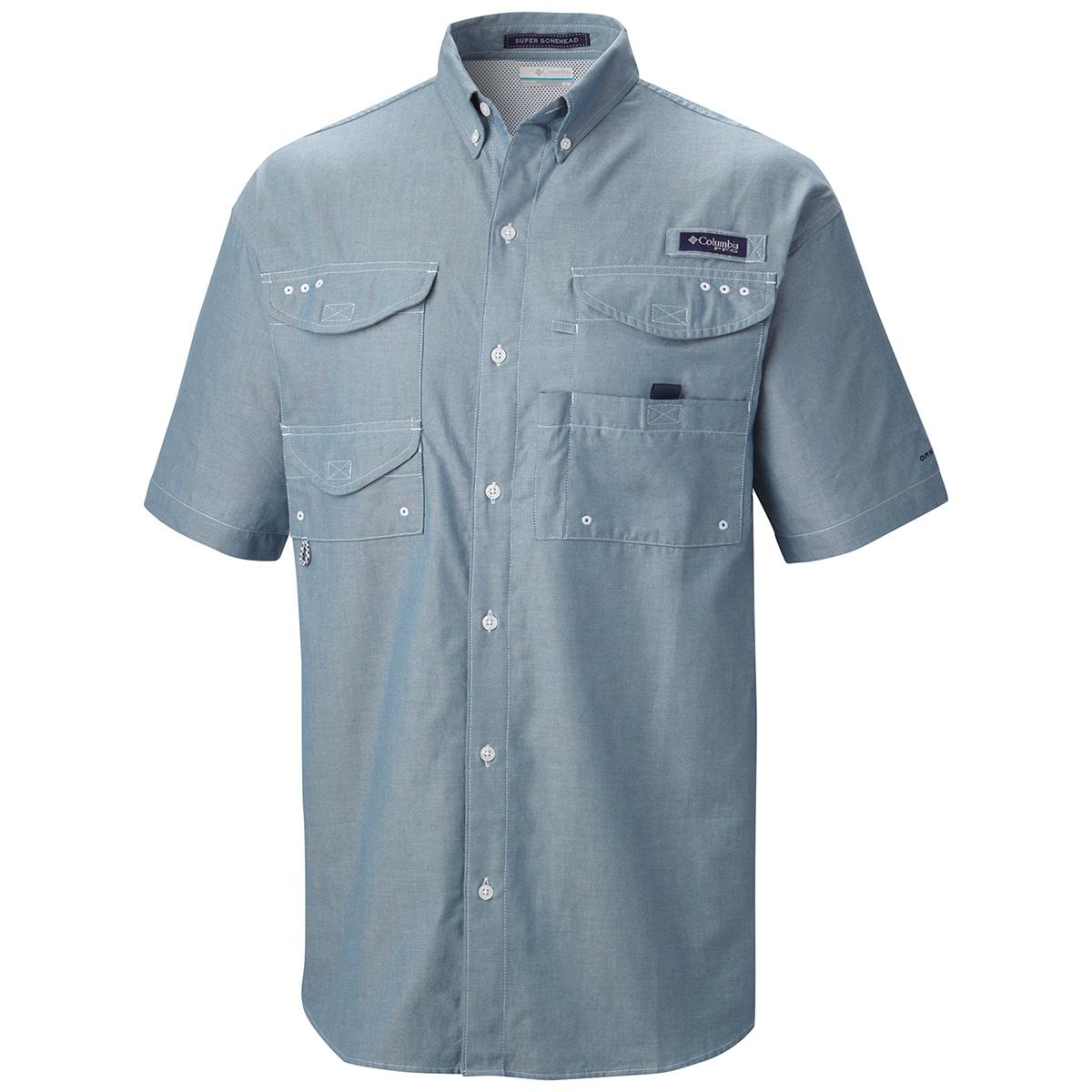 Columbia super bonehead classic ss shirt 2015 fishing for Pfg fishing shirts
