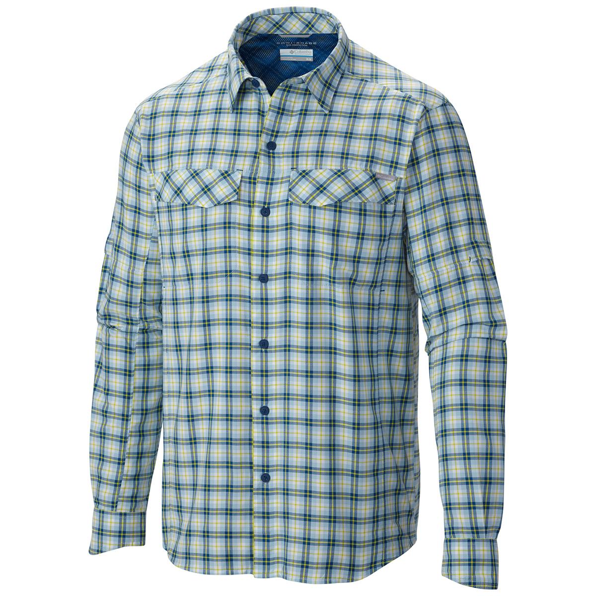 Columbia silver ridge plaid long sleeve shirt 2015 for Fishing long sleeve shirts