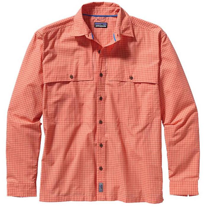 Patagonia ms ls island hopper ii shirt fishing shirts for Patagonia fishing shirt