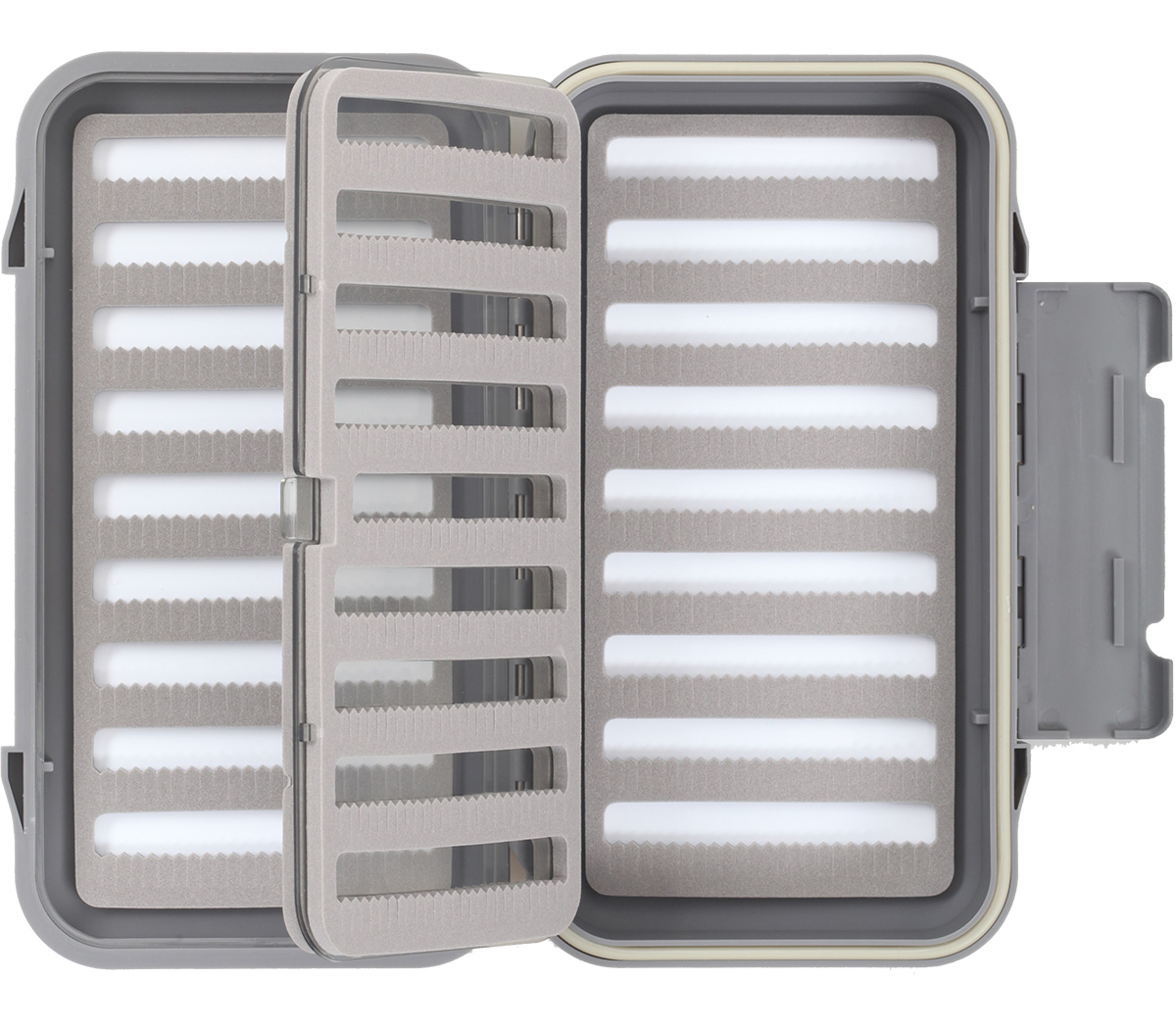 Taimen waterproof fly box 5000 sf with insert fly for Fly fishing box