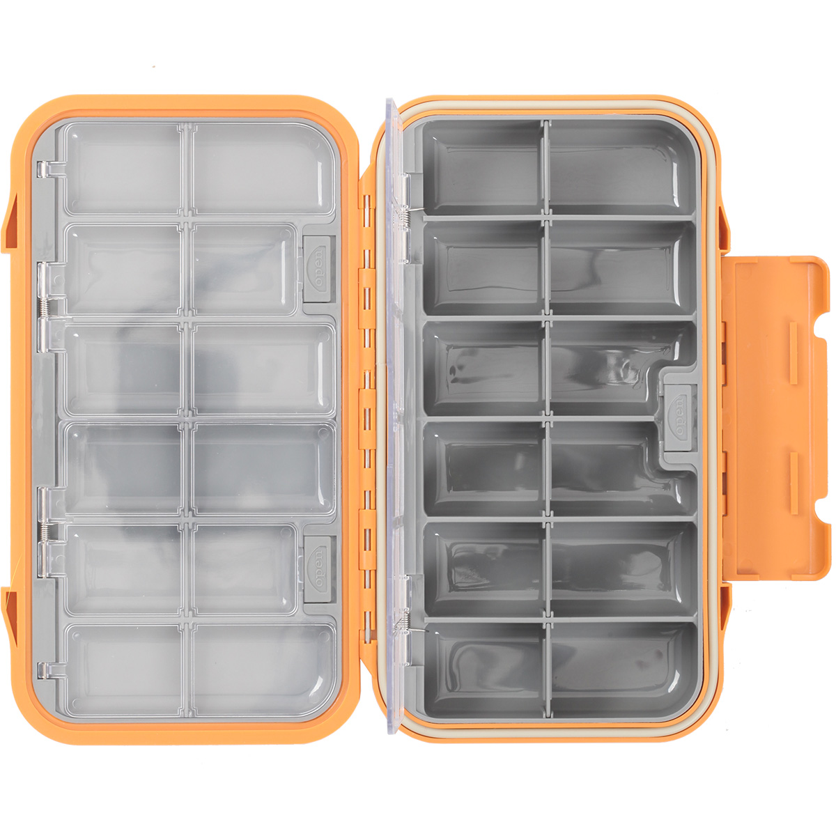 Taimen waterproof fly box 5000 compartment fly fishing for Fly fishing box