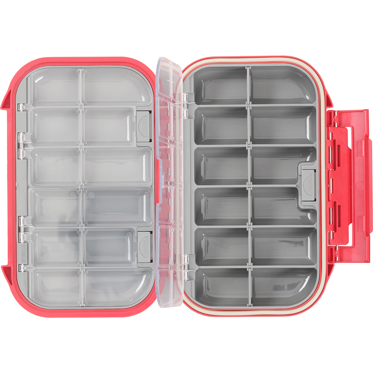 Taimen waterproof fly box 3000 compartment fly fishing for Fly fishing box