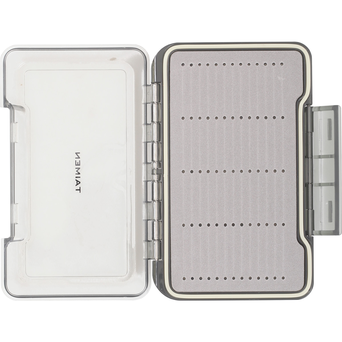 Taimen waterproof clear fly box fly fishing boxes ebay for The fishing fly box