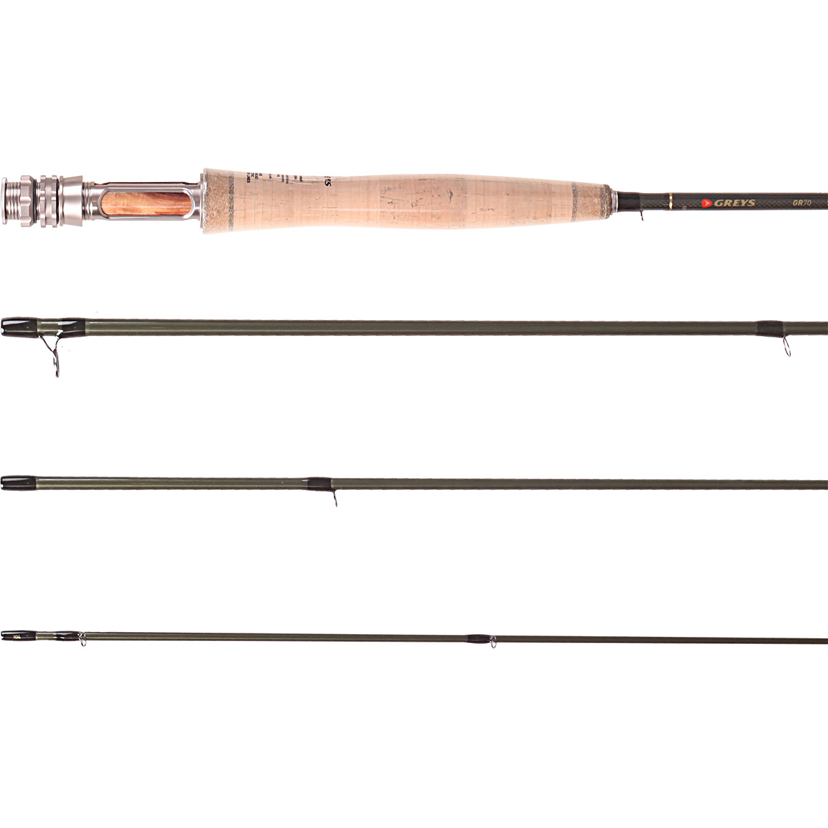 Greys gr 70 streamflex fly fishing rods ebay for Ebay fly fishing