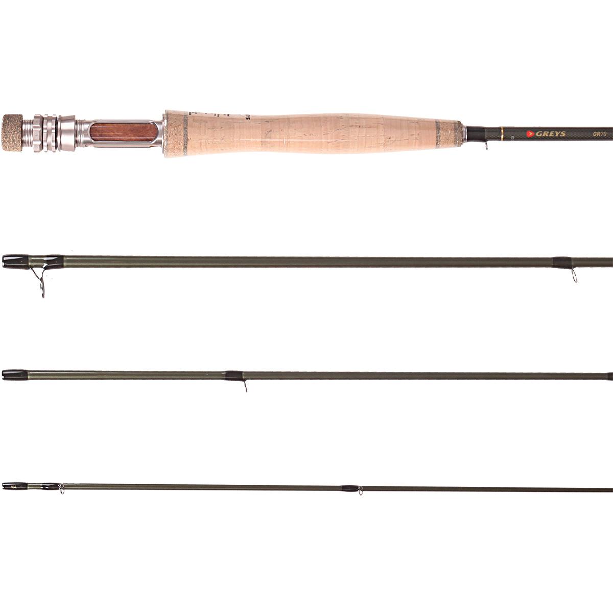Greys gr 70 streamflex fly fishing rods ebay for Fly fishing rods