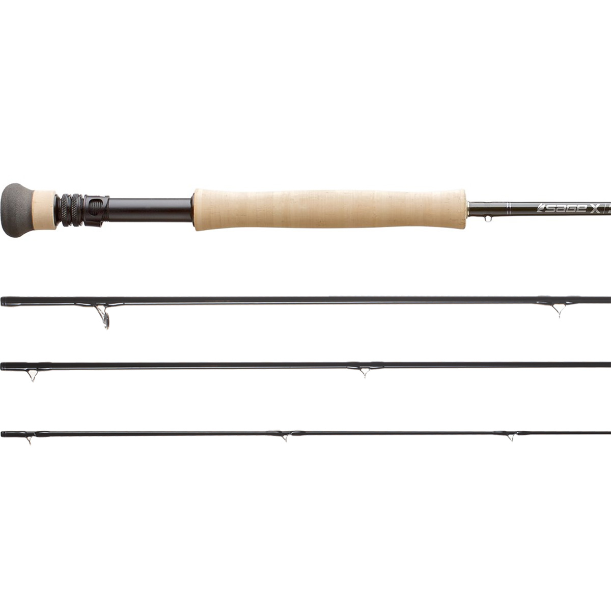 Sage x rod fly fishing rods for Fly fishing with spinning rod