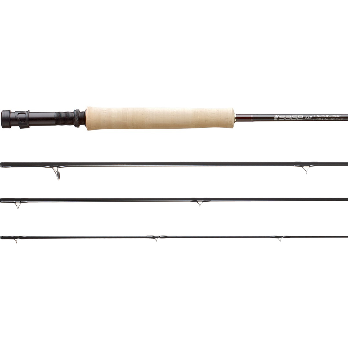 Sage esn rod fly fishing rods ebay for Fly fishing with spinning rod